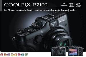 Cámara Nikon Coolpix P Automática Programable Y Manual