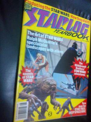 Comic Star Wars Revista Especial Starlog Vintage