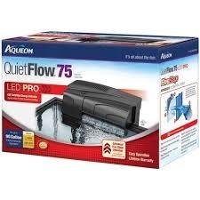 Filtro Cascada Aqueon Quietflow75 Para Acuario De 360 Litros