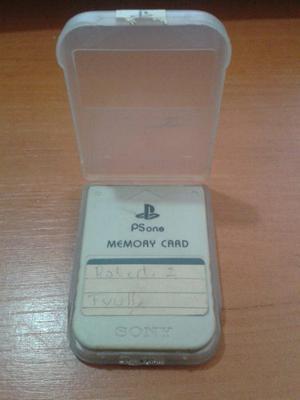 Memory Card Psone Oferta