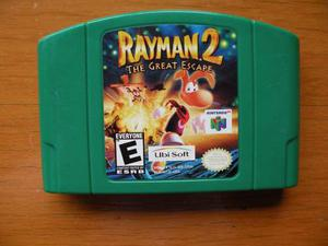 Rayman 2 The Great Scape Juego Para Nintendo 64