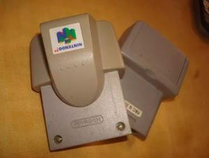Rumble Pack Jumper Pack N64 En Perfecto Estado