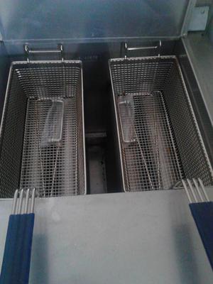 Freidora industrial de aceite y agua posot class for Freidora industrial