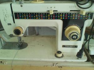 maquina de coser triumph deluxe posot class