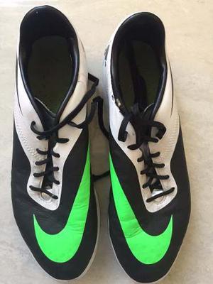 Zapatos Tacos De Fútbol Nike Hipervenom Usados Talla 40,5