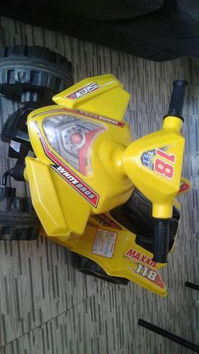 Cuatrimoto De Niño. Moto A Batería