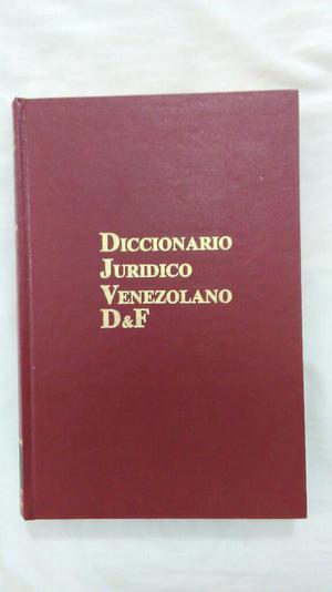 Diccionario Juridico Y Libros de Derecho