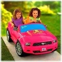 Fisher Price Ford Mustang De Barbie Nuevo