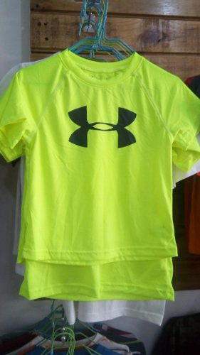 Franela Para Niño Under Armour - Talla 4, 5 Y 6
