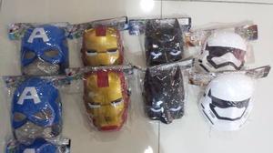 Mascaras Con Luces De Iron Man Capitan America Batman Stormt