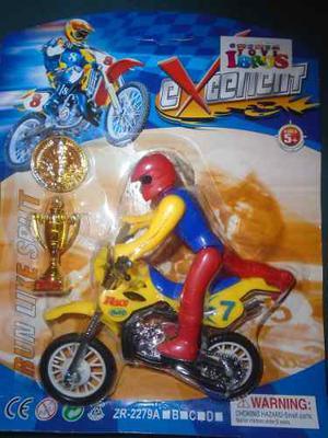 Moto De Juguete Muñeco Para Niños
