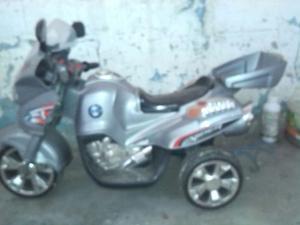 Moto Electrica De Niño Poco Uso