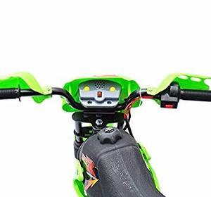 Moto Electrica Modelo Motocross Para Niño Como Nueva