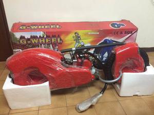 Patineta Con Motor 2 Tiempor 50cc G-wheel Nuevo!
