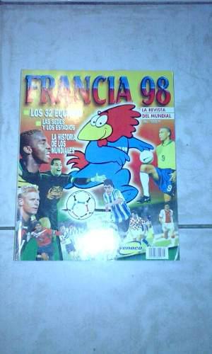 Revista De Futbol Francia 98