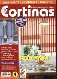 Set De 11 Revistas Para Diseñar Y Realizar Cortinas En Tela