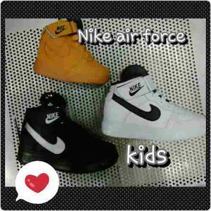 Zapatos Botas Air Force De Niños Nike Al Mejor Precio