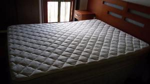 Colchon Matrimonial Divenca Ensueño Con Doble Pillow