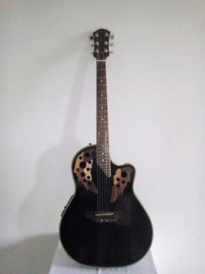 Guitarra Electro Acústica Marca Palmer Modelo Ovation