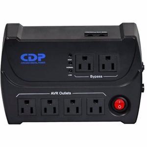 Regulador De Voltaje Protector Cdp Pc | 6 Toma 540va | Nuevo