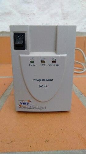 Regulador De Voltaje Ybt 600va 4 Tomas