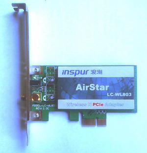 TARJETA PCI EXPRESS WIFI