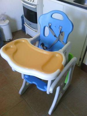 silla comedor convertible a escritorio para nios
