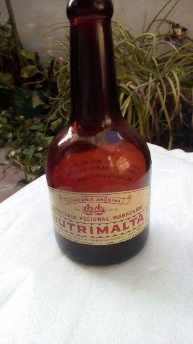 Botella Antigua De Coleccion