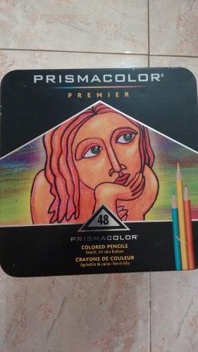 Caja De Lata De 48 Colores Prismacolor Usados