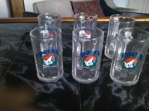 Jarras Para Cerveza De Polar,vasos,tarros,copas,bar,fiestas