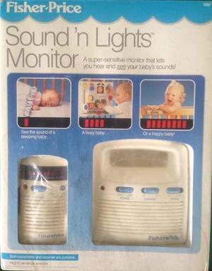 Monitor Para Bebé Fisher Price Con Sonido Y Luces