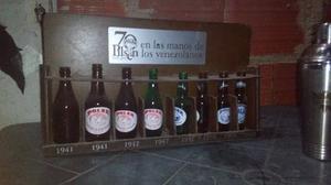 Mostrador De Botellas Antigua De La Polar