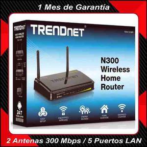 Router Inalámbrico Trendnet Tew-731br 300 Mbps 2 Antenas