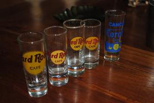 Vasos Hard Rock Cafe Coleccion