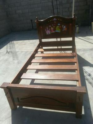 Se venden muebles sofa cama madera maciza posot class for Cama individual madera