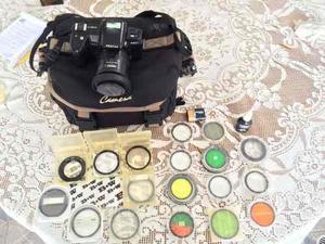 Camara Fotografica Pentax Z-mm + Lentes Y Filtros