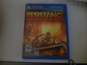 Juego Para Psp Vita Resistance