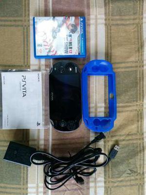 Playstation Vita 3g/wi-fi Bundle Con Un Juego Y 8gb