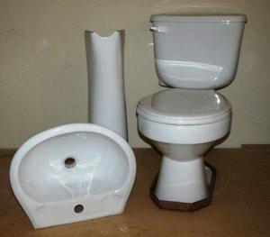 juego de ba o poceta y lavamanos color blanco posot class
