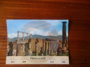 Postal Antigua Phonoscope De Pompei De 78 Rpm