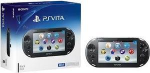Ps Vita Original Sony Y Nuevo En Su Caja + Memoria 16gb + Ju