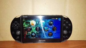Ps Vita Slim Con 1 Juego Y Memoria De 4 Gigas. Software 3.65
