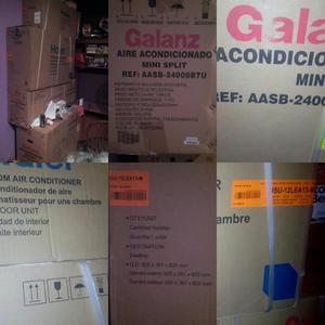 A/A SPLIT DE BTU GALANZ Y OTRO DE BTU DE OTRA