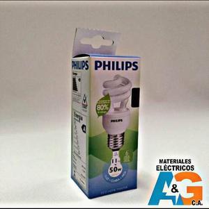 Bombillo Ahorrador De 11w Philips Por Caja