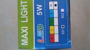 Bombillos Led Marca Maxi Light 5w. Por Docena