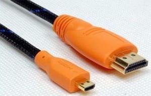 Cable Convertidor De Hdmi A Micro Hdmi Tablet Telefono Wash