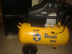 Compresor tucson 150 litros 3 hp posot class for Compresor hidroneumatico