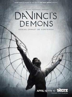 Da Vincis Demons Primera Temporada En 03 Discos De Blu-ray