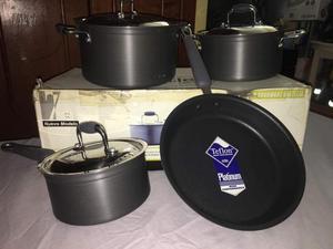 Juegos de ollas sartenes y cuchillos profesionales posot for Sartenes profesionales cocina
