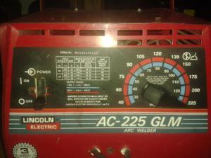 Maquina de soldar Lincoln AC225 GLM